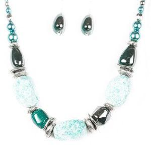 In Good Glazes Jewelry Set (Blue)